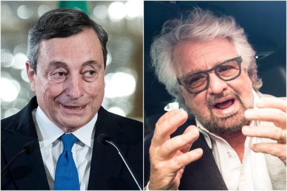 Draghi e Grillo