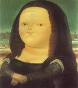 Fernando Botero Mona Lisa