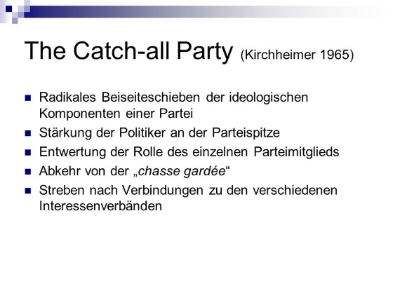 The Catch-All Party